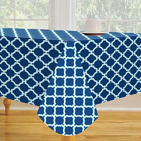 Lattice Vinyl Tablecloth Bed Bath Amp Beyond