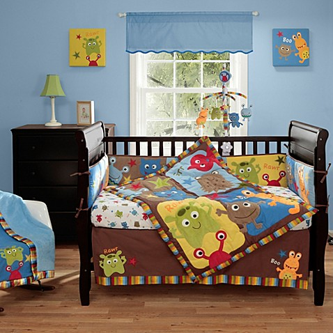 Bananafish 174 Baby Monster Crib Bedding Collection Buybuy Baby