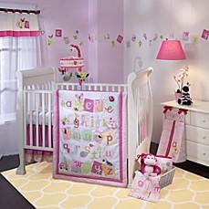 lambs u0026 ivy sweet abc 4piece crib bedding set