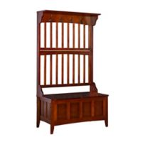 Hall Tree with Storage Bench