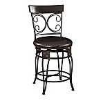 Powell The Big and Tall Back to Back Scroll Counter Stool