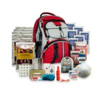 Wise Foods Company 5-Day Survival Backpack in Red