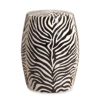 Emissary Zebra Stool/Table