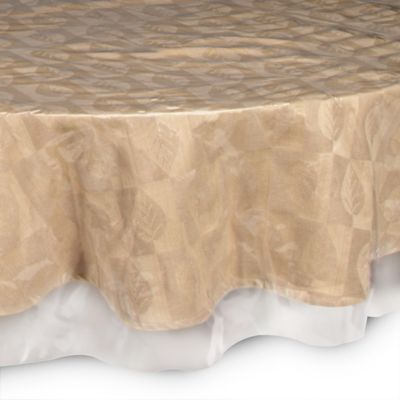 Marvelous Crystal Clear 70 Inch Round Tablecloth Protector
