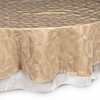 Crystal Clear 70-Inch Round Tablecloth Protector