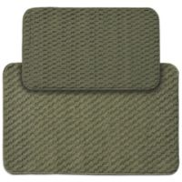 Garland Town Square 2-Piece Rectangle Kitchen Rug Set in Sage