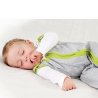 Baby Deedee® Sleep Nest® Lite Size 6-18 Months in Heather Grey Lime