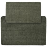Garland Berber Rib 2-Piece Kitchen Rug Set in Sage