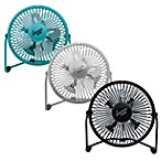 Comfort Zone® 4-Inch Cradle High Velocity Dual Powered Fan