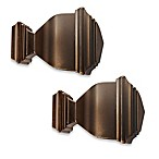 Cambria® Premier Complete Napoleon Finial in Oil Rubbed Bronze (Set of 2)