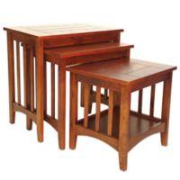 Hugo Birchwood Nesting Tables (Set of 3)