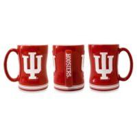 Indiana University 15-Ounce Sculpted Coffee Mug