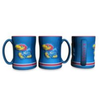 University of Kansas 15-Ounce Sculpted Coffee Mug