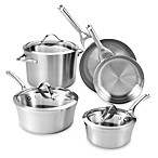 Calphalon® Contemporary Stainless Steel 8-Piece Cookware Set
