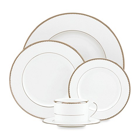 Kate spade new york sugar pointe dinnerware collection for Bed bath and beyond kate spade