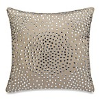Iron Gates Rhinestones Square Throw Pillow