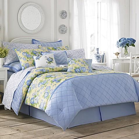 Buy Laura Ashley Salisbury Twin Comforter Set From Bed Bath Beyond