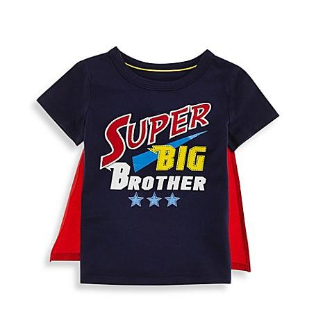 Kidtopia Super Big Brother Tee in Blue - buybuy BABY