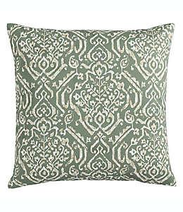 MorganHome Cojín decorativo en verde