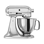 KitchenAid® 5-Quart Artisan™ Custom Metallic Stand Mixer in Chrome