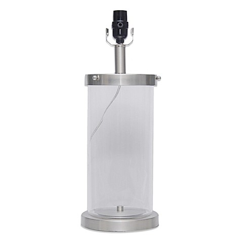 mix u0026 match large lamp collection with fillable glass base - Fillable Lamp