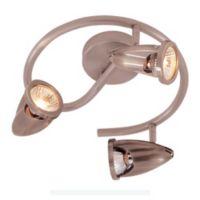 Bel Air Spiral 3 Spot Track Light in Bronze