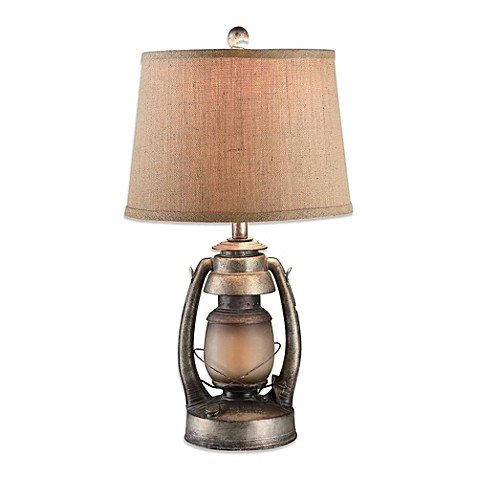 Table Lamp With Night Light Base: Crestview Collection Oil Lantern Table Lamp with Nightlight,Lighting