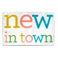 About Face Designs New in Town Plaque