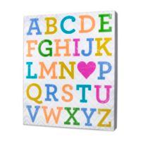 About Face Designs Alphabet Plaque