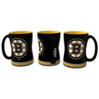 NHL Boston Bruins Sculpted Relief Mug