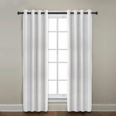 Citylinen Linen Grommet Window Curtain Panels