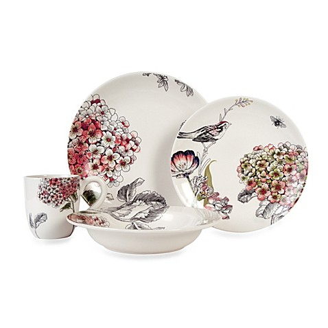 Edie Rose By Rachel Bilson Hydrangea Dinnerware Collection