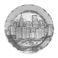 Wendell August Chicago Round Mini-Plate/Coaster