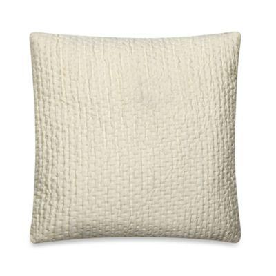 Ticker Stitch Square Throw Pillow Bed Bath Amp Beyond