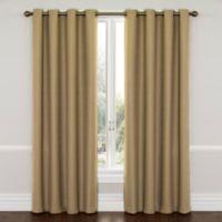 SolarShield® Westin 63-Inch Room Darkening Window Curtain Panel in Latte Beige