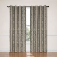 SolarShield® Naomi 84-Inch Room Darkening Window Curtain Panel in Black