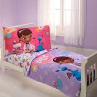 Disney® Doc McStuffins 4-Piece Toddler Bed Set
