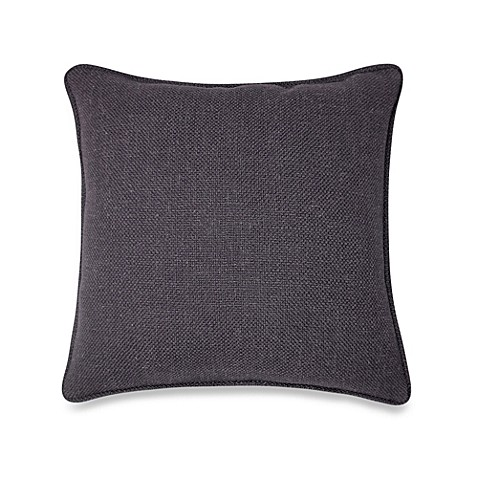 Modern Square Pillow Pull : Buy Contemporary Loft Square Throw Pillow in Black from Bed Bath & Beyond