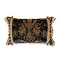 Austin Horn Classics Verona Boudoir Throw Pillow in Black