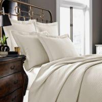 Kassatex Diamante Collection King Pillow Sham in Ivory