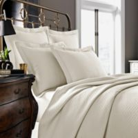 Kassatex Diamante Collection King Pillow Sham in Ivory