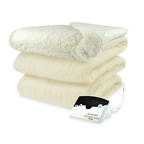 Buy Biddeford Blankets Comfort Knit Heated Queen Blanket