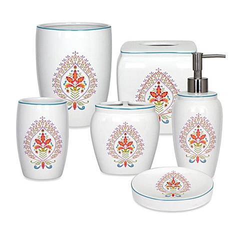 Dena home kalani bathroom accessories bed bath beyond for Bathroom accessories showroom