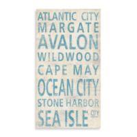 Jersey Shore South Guest Towel
