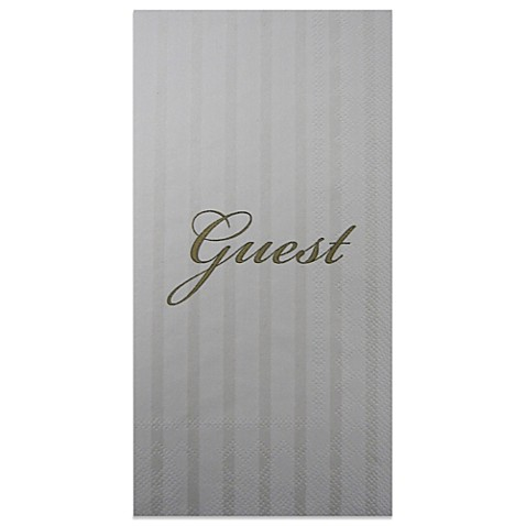 Quot Guest Quot 16 Pack Decorative Paper Guest Towels Bed Bath