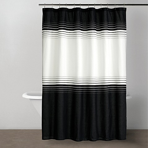 DKNY Empire Collection 72-Inch x 72-Inch Shower Curtain