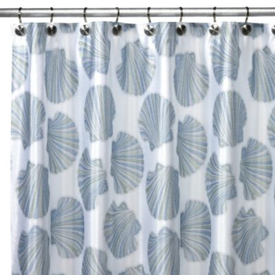 CroscillR Mosaic Shells Shower Curtain