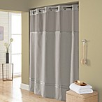 Hookless® Escape 54-Inch x 80-Inch Stall Fabric Shower Curtain and Liner Set in Grey