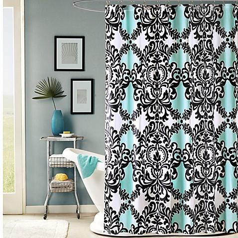 Mia 72 Inch X 72 Inch Fabric Shower Curtain