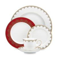 Lenox® Jeweled Saree Gold 5-Piece Place Setting